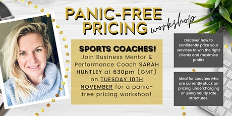PANIC-FREE PRICING WORKSHOP tickets