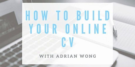 Build Your Own CV Website - Workshop tickets