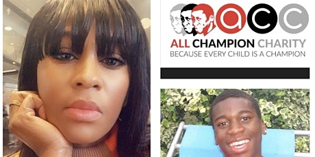 All Champions Charity - Peguy Kato speaks about the murder of her Son. tickets