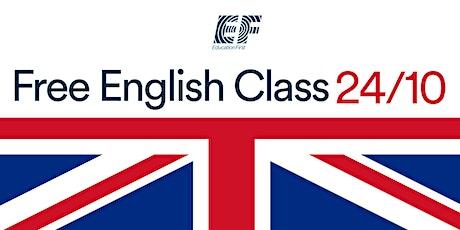 EF Free English Class biglietti