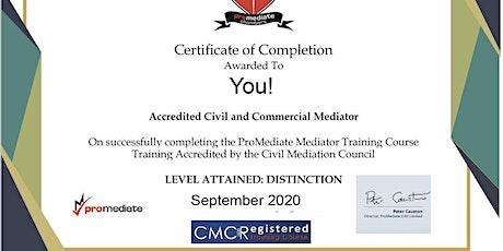 Train as a Civil Mediation Council Mediator Online tickets