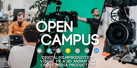 Open Campus: Komm vorbei! #Film #Visual FX #Cross Media Tickets
