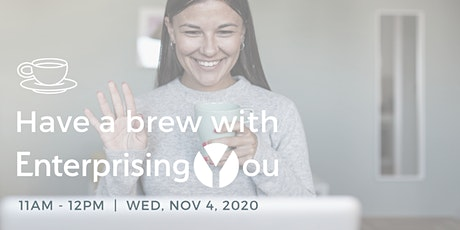 Have a brew with EnterprisingYou! tickets