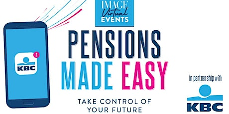 IMAGE x KBC: Pensions Made Easy tickets