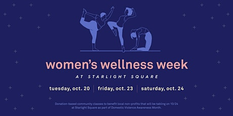 Wellness Week: Restorative Yoga with Marlene Boyette tickets