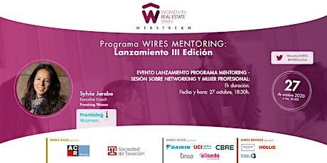 Evento de Lanzamiento del Programa WIRES MENTORING III Edición entradas