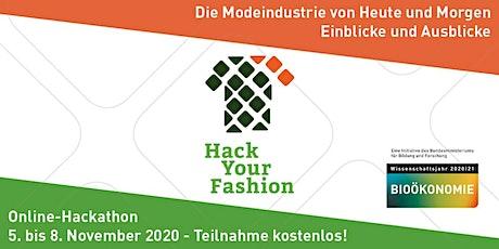Die Modeindustrie von Heute und Morgen - Hack Your Fashion Online-Hackathon Tickets