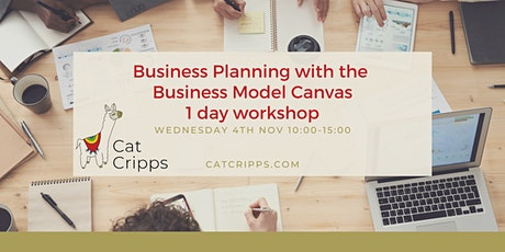 Business Planning with the Business Model Canvas - 1-day workshop tickets