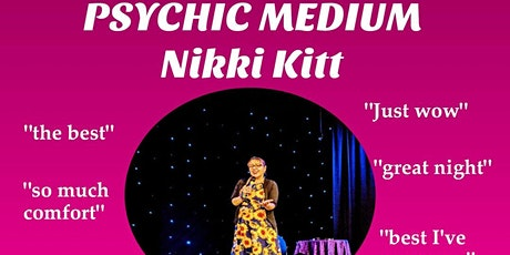 Evening of Mediumship with Nikki Kitt - Chacewater tickets