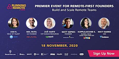 Running Remote 2020 tickets