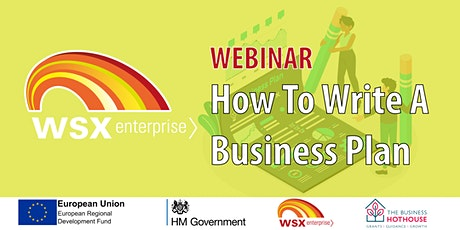 How to Write a Business Plan - Webinar tickets