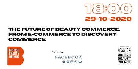 The Future of Beauty Commerce, from E-commerce to Discovery Commerce tickets