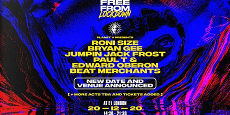 Free From Lockdown: Xmas w/ Planet V tickets