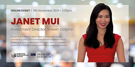 Lets Talk Business: The pandemic and its economic impact with Janet Mui tickets