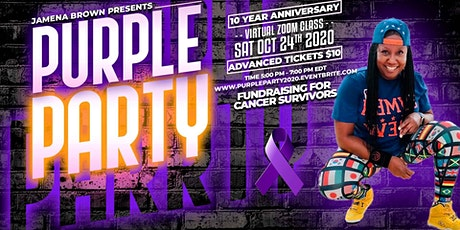 10th ANNUAL PURPLE CANCER FUNDRAISING PARTY tickets