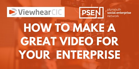 How to create an engaging film for your Enterprise tickets