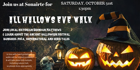 (CANCELLED) All Hallows Eve Walk tickets