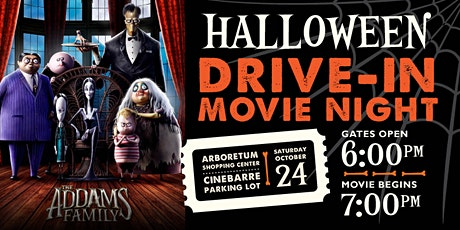 Arboretum Shopping Center Movie Night- The Addam's Family tickets