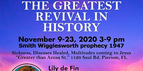 FREE REVIVAL Christian Convention w/Lily  DeFin + Speakers, Music tickets