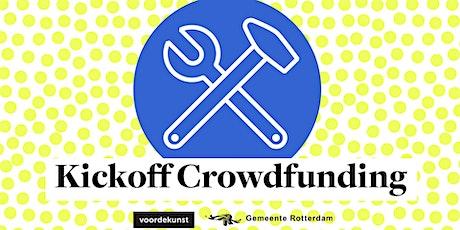 Kickoff Crowdfunding i.s.m. Gemeente Rotterdam tickets