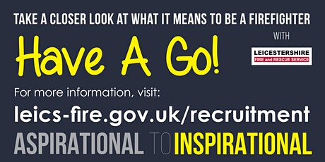 Wholetime Firefighter Have A Go Day - Underrepresented groups tickets