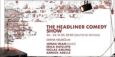The Headliner Comedy Show (Deutsch) Tickets