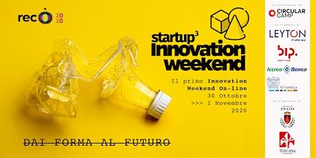 Startup³ Innovation Weekend biglietti