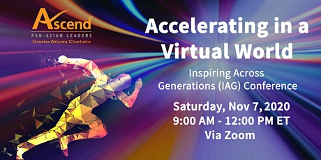 Accelerating in a Virtual World - IAG Conference tickets