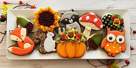 Woodland Creatures Intermediate Cookie Decorating Class - Spring Hill tickets