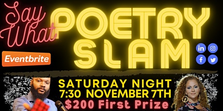 WEP Say What $200 Poetry Slam tickets