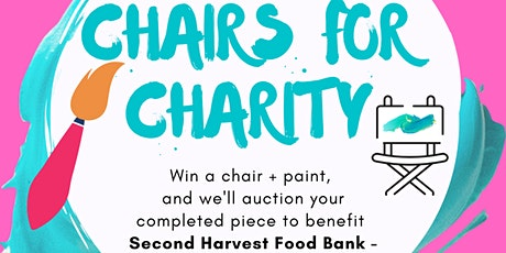Chairs for Charity - call for local artisans! tickets