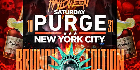 Purge Halloween Brunch, Bottomless Drinks and Live DJ tickets