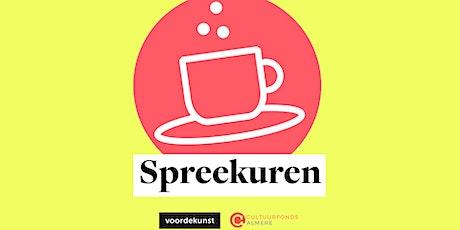 Online spreekuren i.s.m. Cultuurfonds Almere