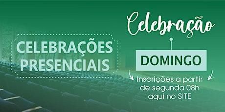 Cópia de CELEBRAÇÃO DE DOMINGO - 25/10/20 ingressos