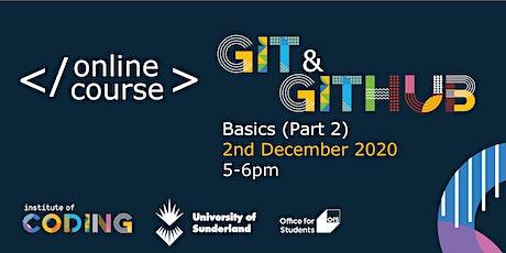 Git & Github Basics (Part 2) tickets