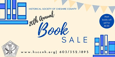 Used Book Sale -exclusive preview opportunity tickets