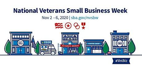 SBA's 2020 Veteran's Entrepreneurship Resource Webinar - Nov. 2 tickets
