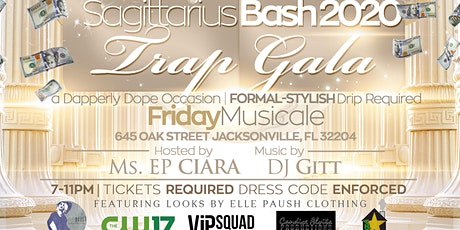 SAGITTARIUS BASH 2020: Duval Trap Gala tickets