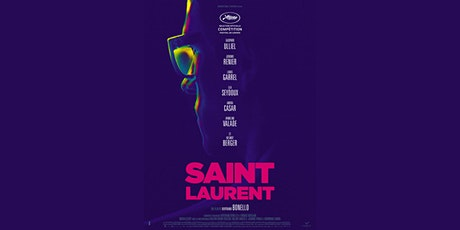"Online Ciné Canapé + French discussion ""Saint Laurent"" tickets"