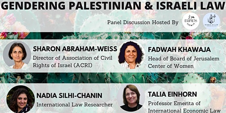 Gendering Palestinian & Israeli Law Panel tickets