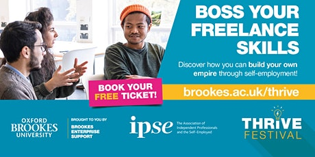 Boss Your Freelance Skills with IPSE tickets