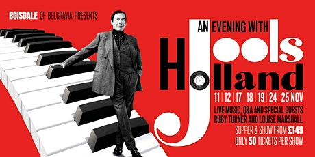 Jools Holland: Intimate Evening tickets