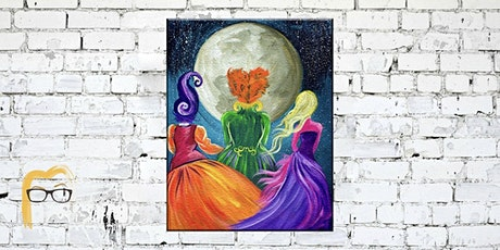 Hocus Pocus Halloween Painting DIY - Paint & Sip tickets