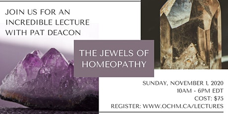The Jewels of Homeopathy tickets