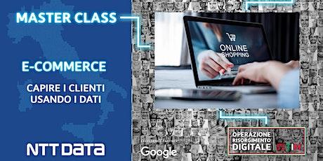 E-commerce - Capire i clienti usando i dati biglietti