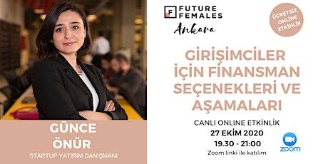Girişimciler için Finansman Seçenekleri ve Aşamaları | FF Ankara tickets