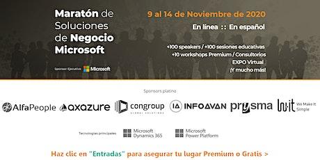 Maratón de Soluciones de Negocio Microsoft entradas