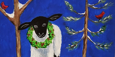 Holiday Lamb - Kids Paint Party with Andrea Poole tickets