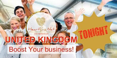 HeartBizNet U. K. Business Match Online tickets