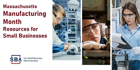 MA Manufacturing Month Resources for Small Businesses tickets